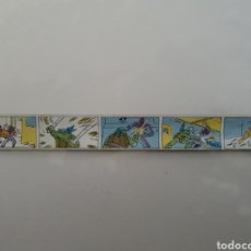 Figuras y Muñecos Tortugas Ninja: RARÍSIMA REGLA ENROLLABLE TORTUGAS NINJAS POR MIRAGE STUDIOS 1990. Lote 185981442