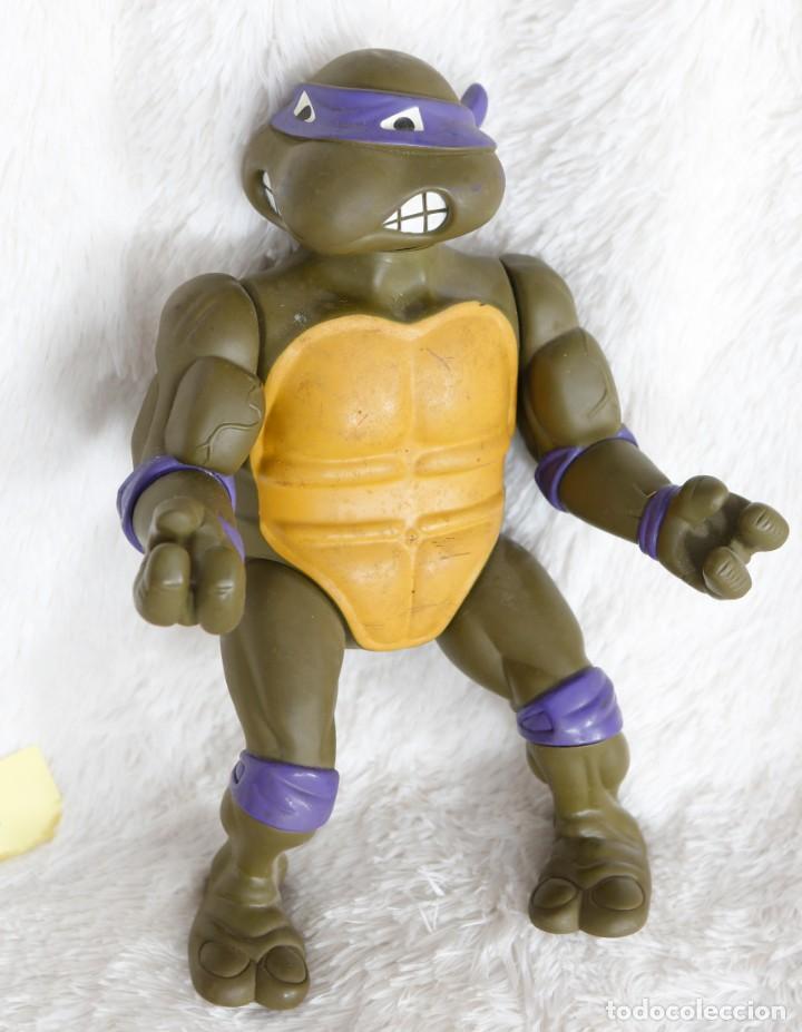 TORTUGA NINJA 35 CM DE ALTUA, PLAYMATES, 1989 (Juguetes - Figuras de Acción - Tortugas Ninja)