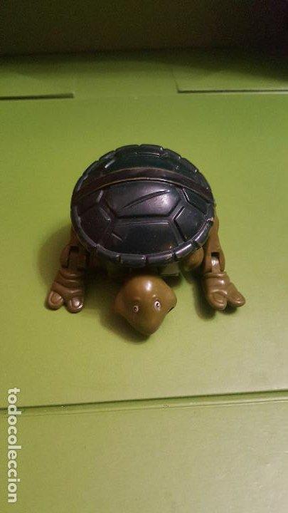 FIGURA TORTUGA NINJA - SE TRANSFORMA EN TORTUGA (Juguetes - Figuras de Acción - Tortugas Ninja)