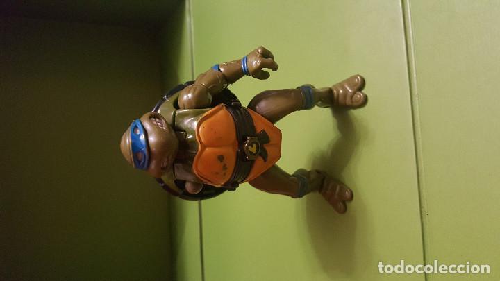 Figuras y Muñecos Tortugas Ninja: FIGURA TORTUGA NINJA - SE TRANSFORMA EN TORTUGA - Foto 2 - 186275713