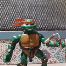 Figuras y Muñecos Tortugas Ninja: FIGURA ARTICULADA TMNT MICHELANGELO TORTUGAS NINJA 2002 MIRAGE STUDIOS PLAYMATES TOYS. Lote 186394878