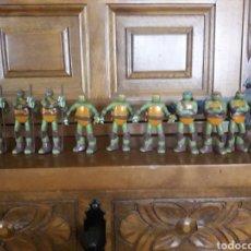 Figuras y Muñecos Tortugas Ninja: LOTE DE 13 FIGURAS DE TORTUGAS NINJA, VIACOM, 2013. Lote 190924542