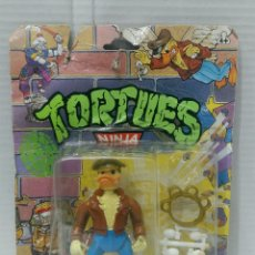 Figuras y Muñecos Tortugas Ninja: ACE DUCK. TORTUGAS NINJA. TMNT. NUEVO EN BLISTER. FALTAN LAS ALAS. MIRAGE STUDIOS.. Lote 192089805