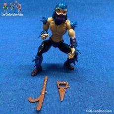 Figuras y Muñecos Tortugas Ninja: TORTUGAS NINJAS - SHREDDER - PLAYMATES TOYS AÑO 1988 + 2 ARMAS. Lote 225028160