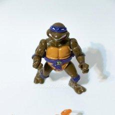Figuras y Muñecos Tortugas Ninja: TMNT TEENAGE MUTANT NINJA TURTLES TORTUGAS NINJA - DONATELLO STORAGE SHELL (PLAYMATES 1991). Lote 194235097