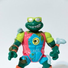 Figuras y Muñecos Tortugas Ninja: TMNT TEENAGE MUTANT NINJA TURTLES TORTUGAS NINJA - MIKE SEWER SURFER (PLAYMATES 1990). Lote 194243112