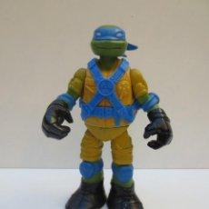 Figuras y Muñecos Tortugas Ninja: TORTUGA NINJA - LEONARDO DE 12 CM DE ALTO .- VIACOM 2012 -. Lote 194314978
