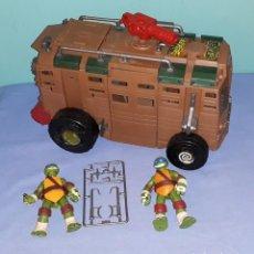Figuras y Muñecos Tortugas Ninja: TORTUGAS NINJA BLINDADO DOS PERSONAJES Y ACCESORIOS ORIGINALES EN MUY BUEN ESTADO. Lote 194609561