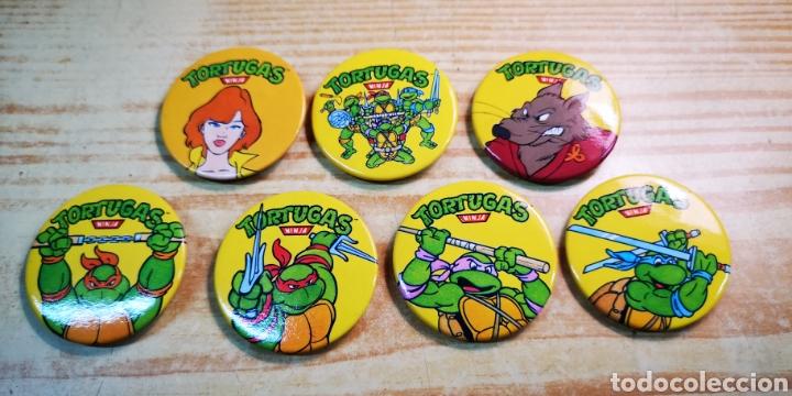 TORTUGAS NINJA 7 CHAPAS A ESTRENAR (Juguetes - Figuras de Acción - Tortugas Ninja)