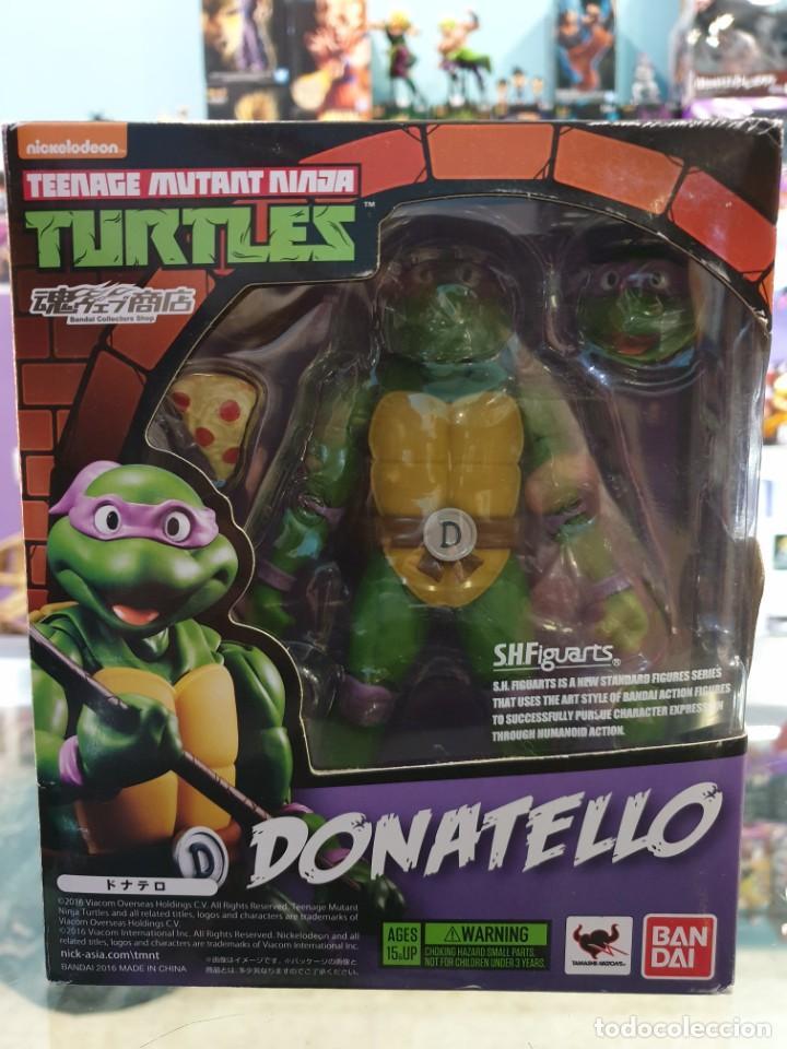 DONATELLO SH FIGUARTS TORTUGAS NINJA TAMASHII NATIONS (Juguetes - Figuras de Acción - Tortugas Ninja)