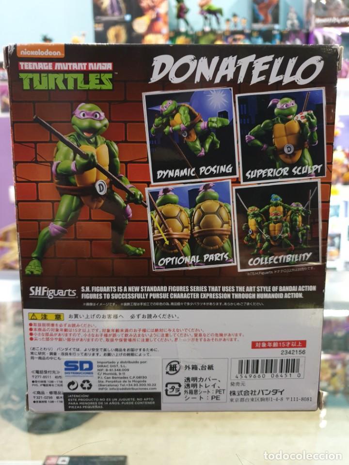 Figuras y Muñecos Tortugas Ninja: DONATELLO SH FIGUARTS TORTUGAS NINJA TAMASHII NATIONS - Foto 2 - 194667795