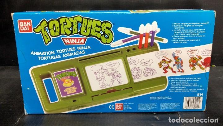 Figuras y Muñecos Tortugas Ninja: Tortugas animadas para dibujar Bandai 1988 - Foto 2 - 194891687