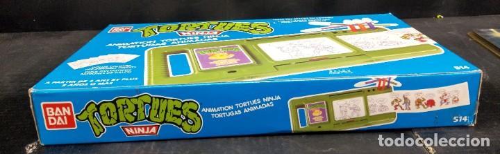 Figuras y Muñecos Tortugas Ninja: Tortugas animadas para dibujar Bandai 1988 - Foto 5 - 194891687