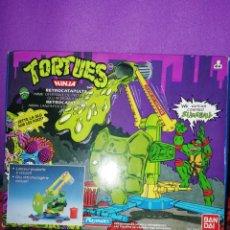 Figuras y Muñecos Tortugas Ninja: CATAPULTA TORTUGAS NINJA A ESTRENAR. Lote 195047172