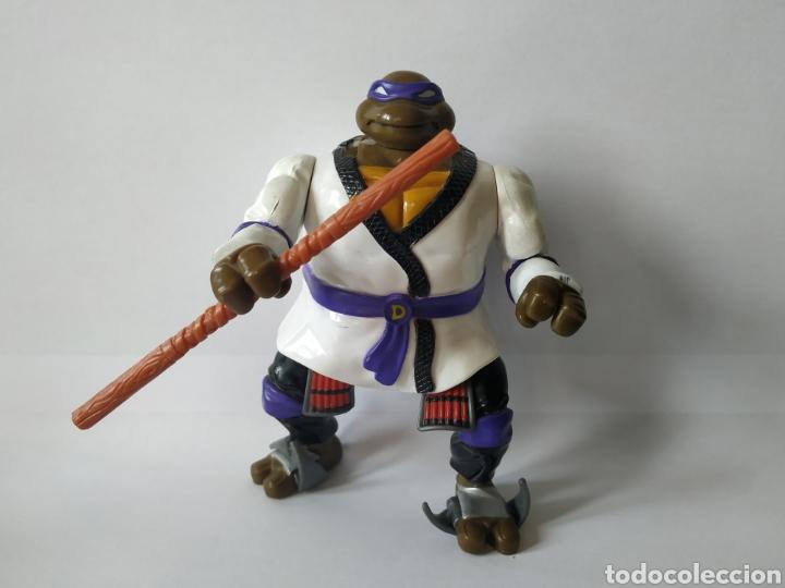 TORTUGAS NINJA DONATELLO SAMURAI 1993 MIRAGE STUDIOS PLAYMATES TOYS (Juguetes - Figuras de Acción - Tortugas Ninja)