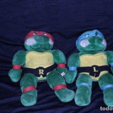 Figuras y Muñecos Tortugas Ninja: PELUCHES AÑOS 90 TORTUGAS NINJA 55CM X 35. Lote 195927975