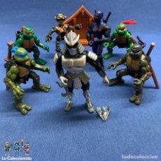 Figuras e Bonecos Tartarugas Ninja: LOTE TORTUGAS NINJAS - PLAYMOATES INC - AÑOS 2003 Y 2004 - FOOT CLAN - SHREDDER - FUGITOID . Lote 196050896