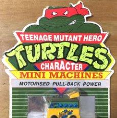 Figuras e Bonecos Tartarugas Ninja: TURTLES MINI MACHINES MOTORISED PULL BACK POWER. Lote 196377702