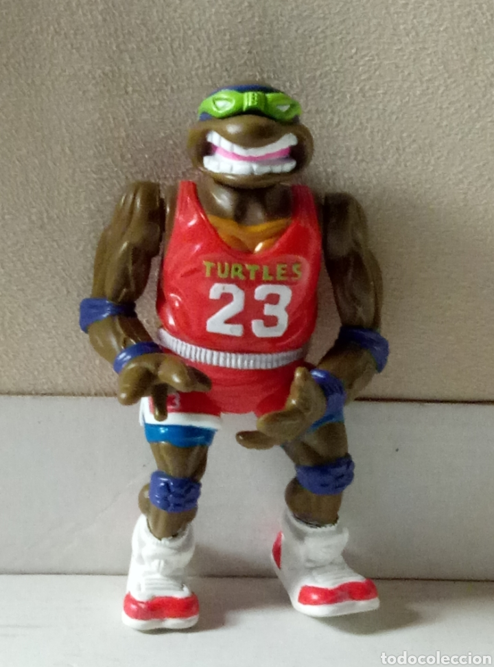 TORTUGAS NINJA LEONARDO 1991 MIRACLE STUDIOS (Juguetes - Figuras de Acción - Tortugas Ninja)