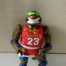 Figuras y Muñecos Tortugas Ninja: TORTUGAS NINJA LEONARDO 1991 MIRACLE STUDIOS. Lote 197129255