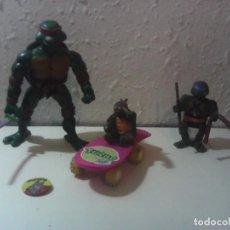 Figuras y Muñecos Tortugas Ninja: LOTE TORTUGAS NINJA TNMT LEER DESCRIPCION. Lote 197590798