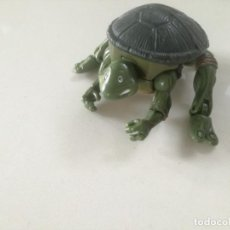 Figuras y Muñecos Tortugas Ninja: TORTUGAS NINJA LEONARDO TRANSFORMABLE - MIRAGE STUDIOS INC. PLAYMATES TOYS 2002 // TRANSFORMER. Lote 197623246