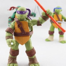 Figuras y Muñecos Tortugas Ninja: TEENAGE MUTANT NINJA TURTLES - DONATELLO - PLASTIC ACTION FIGURE CG.020. Lote 198278191