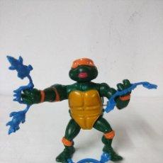 Figuras y Muñecos Tortugas Ninja: BREAKFIGHTIN RAPHAEL/FIGURA ATICULADA TORTUGAS NINJA BANDAI. . Lote 198732932