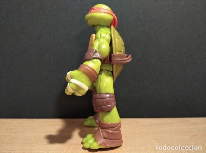 Figuras y Muñecos Tortugas Ninja: FIGURA TORTUGAS NINJAS MICHELANGELO-12cm aprox.-VIACOM PLAYMATES-2012-VER FOTOS-V1 - Foto 6 - 200029122