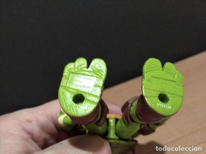 Figuras y Muñecos Tortugas Ninja: FIGURA TORTUGAS NINJAS MICHELANGELO-12cm aprox.-VIACOM PLAYMATES-2012-VER FOTOS-V2 - Foto 7 - 200029271
