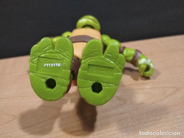Figuras y Muñecos Tortugas Ninja: FIGURA TORTUGAS NINJAS MICHELANGELO-12cm aprox.-VIACOM PLAYMATES-2012-VER FOTOS-V3 - Foto 6 - 200029531