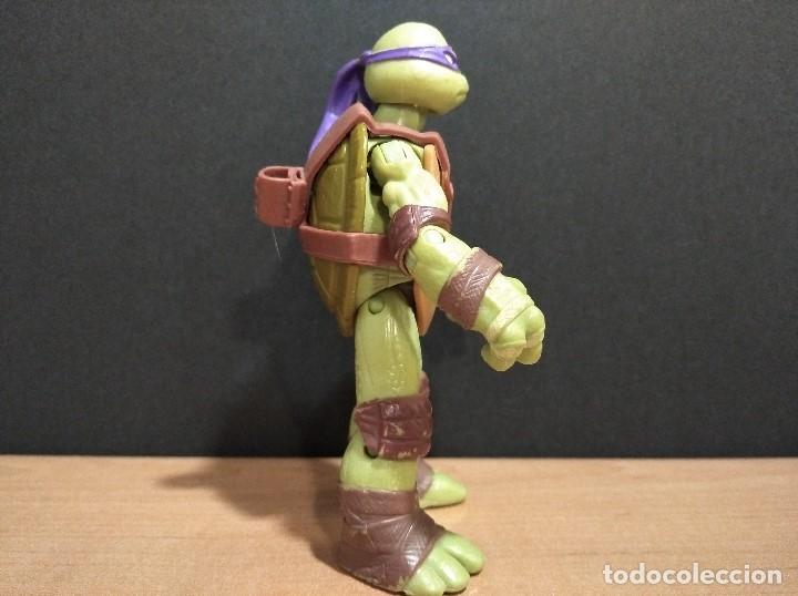 Figuras y Muñecos Tortugas Ninja: FIGURA TORTUGAS NINJAS DONATELLO-12cm aprox.-VIACOM PLAYMATES-2012-VER FOTOS-V1 - Foto 3 - 200030265