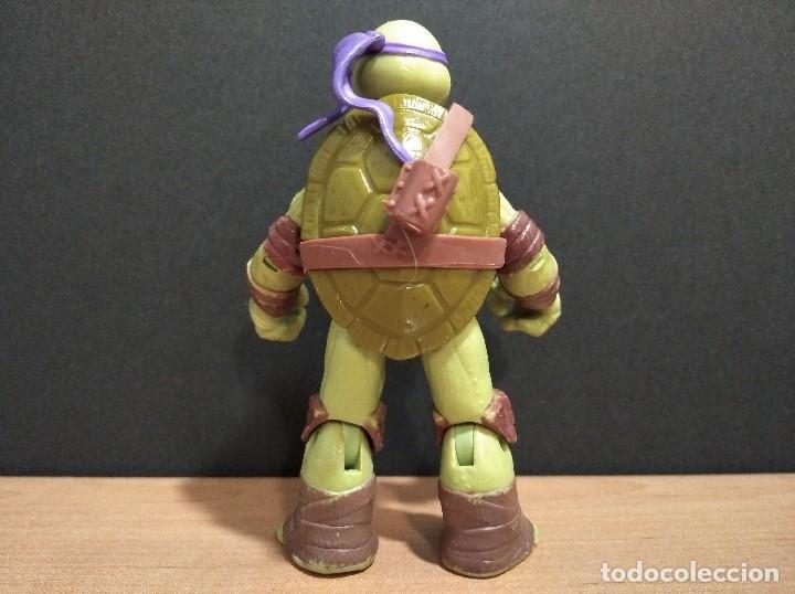 Figuras y Muñecos Tortugas Ninja: FIGURA TORTUGAS NINJAS DONATELLO-12cm aprox.-VIACOM PLAYMATES-2012-VER FOTOS-V1 - Foto 4 - 200030265