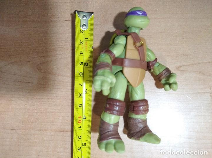 Figuras y Muñecos Tortugas Ninja: FIGURA TORTUGAS NINJAS DONATELLO-12cm aprox.-VIACOM PLAYMATES-2012-VER FOTOS-V1 - Foto 7 - 200030265