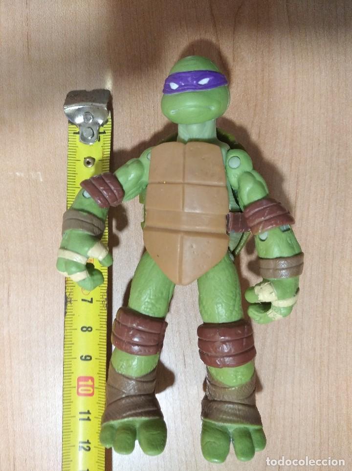 Figuras y Muñecos Tortugas Ninja: FIGURA TORTUGAS NINJAS DONATELLO-12cm aprox.-VIACOM PLAYMATES-2012-VER FOTOS-V2 - Foto 7 - 200030427