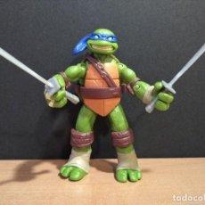 Figuras y Muñecos Tortugas Ninja: FIGURA TORTUGAS NINJAS LEONARDO-12CM APROX.-VIACOM PLAYMATES-2012-VER FOTOS-V1. Lote 200030718