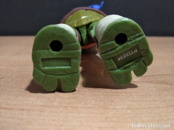 Figuras y Muñecos Tortugas Ninja: FIGURA TORTUGAS NINJAS LEONARDO-12cm aprox.-VIACOM PLAYMATES-2012-VER FOTOS-V2 - Foto 8 - 200030842