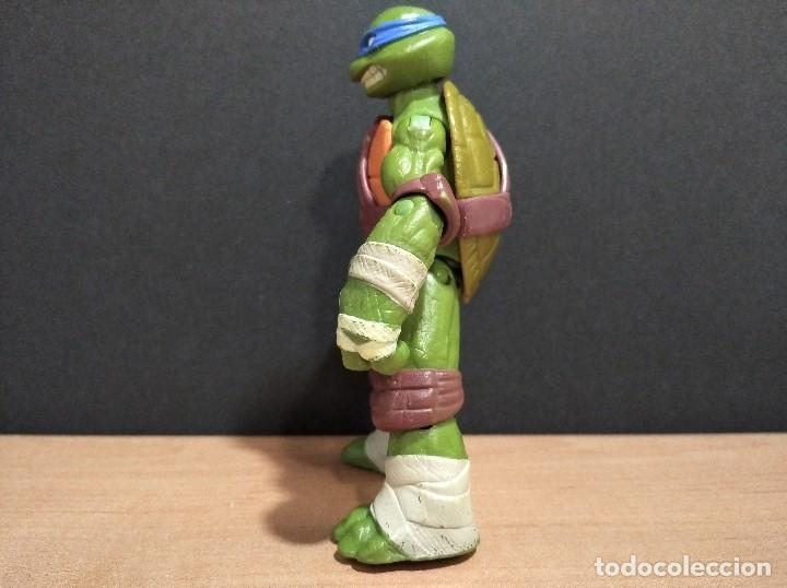 Figuras y Muñecos Tortugas Ninja: FIGURA TORTUGAS NINJAS LEONARDO-12cm aprox.-VIACOM PLAYMATES-2012-VER FOTOS-V3 - Foto 6 - 200030963