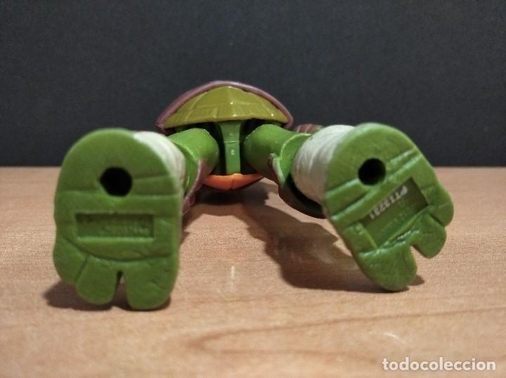 Figuras y Muñecos Tortugas Ninja: FIGURA TORTUGAS NINJAS LEONARDO-12cm aprox.-VIACOM PLAYMATES-2012-VER FOTOS-V3 - Foto 7 - 200030963