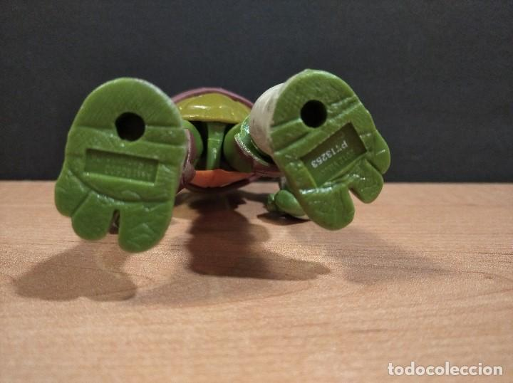 Figuras y Muñecos Tortugas Ninja: FIGURA TORTUGAS NINJAS LEONARDO-12cm aprox.-VIACOM PLAYMATES-2012-VER FOTOS-V4 - Foto 5 - 200031111
