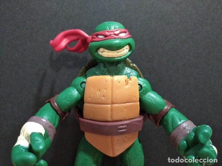 Figuras y Muñecos Tortugas Ninja: FIGURA TORTUGAS NINJAS RAFAEL-12cm aprox.-VIACOM PLAYMATES-2012-VER FOTOS-V1 - Foto 2 - 200031282