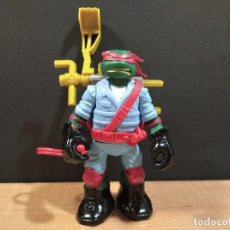 Figuras y Muñecos Tortugas Ninja: FIGURA TORTUGAS NINJAS RAFAEL MUTAGEN OOZE EXCAVADORA-13CM APROX.-VIACOM-2012-VER FOTOS-V1. Lote 200032477