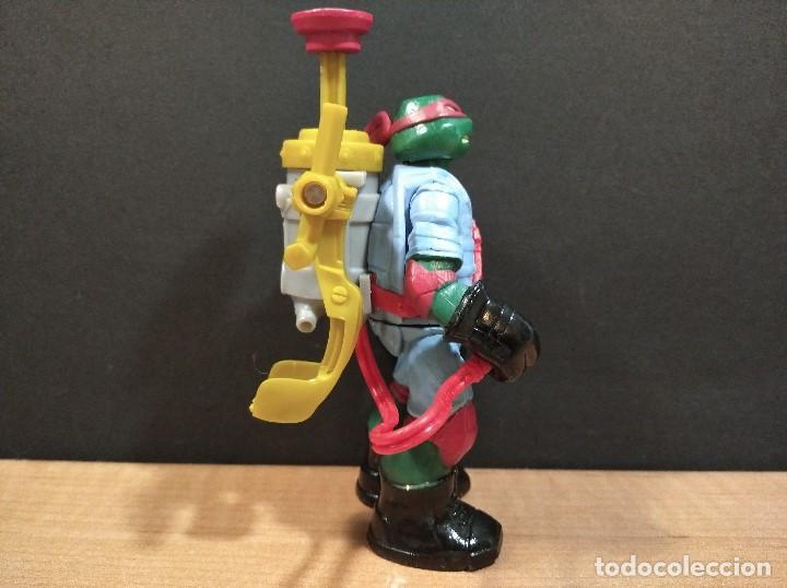 Figuras y Muñecos Tortugas Ninja: FIGURA TORTUGAS NINJAS RAFAEL MUTAGEN OOZE EXCAVADORA-13cm aprox.-VIACOM-2012-VER FOTOS-V1 - Foto 3 - 200032477