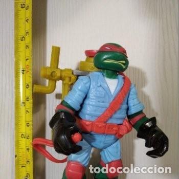 Figuras y Muñecos Tortugas Ninja: FIGURA TORTUGAS NINJAS RAFAEL MUTAGEN OOZE EXCAVADORA-13cm aprox.-VIACOM-2012-VER FOTOS-V1 - Foto 8 - 200032477