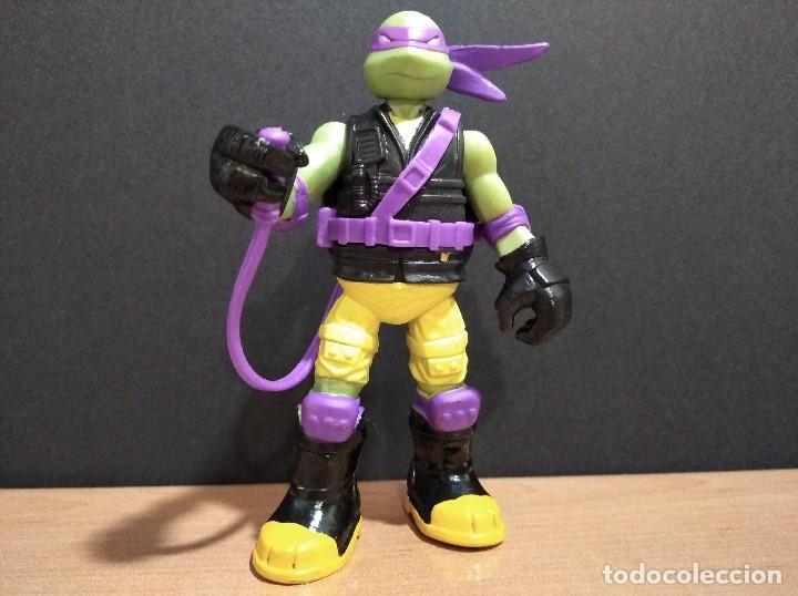 FIGURA TORTUGAS NINJAS DONATELLO MUTAGEN OOZE-12CM APROX.-VIACOM-2012-VER FOTOS-V1 (Juguetes - Figuras de Acción - Tortugas Ninja)