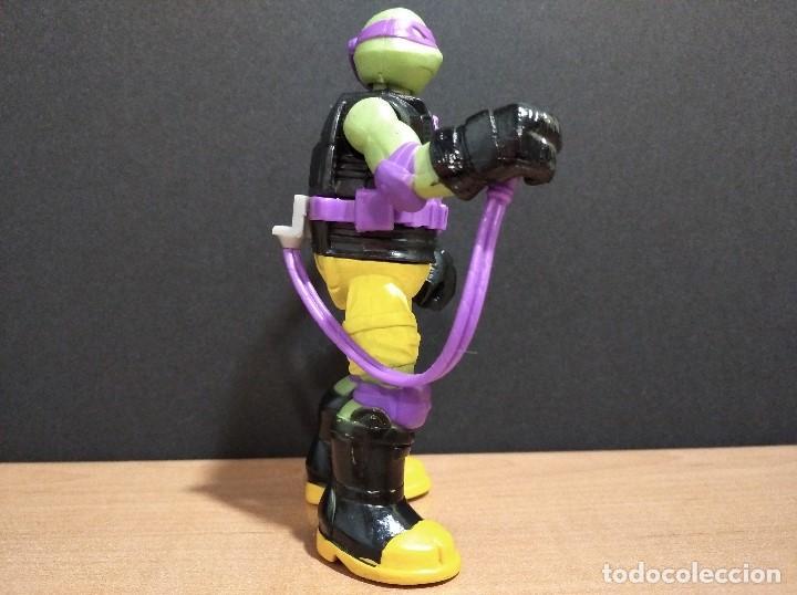 Figuras y Muñecos Tortugas Ninja: FIGURA TORTUGAS NINJAS DONATELLO MUTAGEN OOZE-12cm aprox.-VIACOM-2012-VER FOTOS-V1 - Foto 2 - 200032740