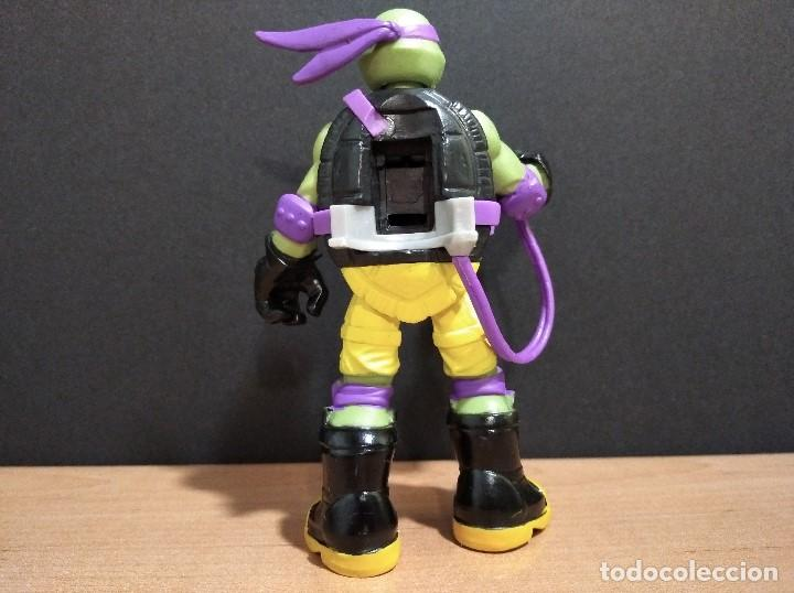 Figuras y Muñecos Tortugas Ninja: FIGURA TORTUGAS NINJAS DONATELLO MUTAGEN OOZE-12cm aprox.-VIACOM-2012-VER FOTOS-V1 - Foto 3 - 200032740