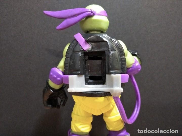 Figuras y Muñecos Tortugas Ninja: FIGURA TORTUGAS NINJAS DONATELLO MUTAGEN OOZE-12cm aprox.-VIACOM-2012-VER FOTOS-V1 - Foto 4 - 200032740