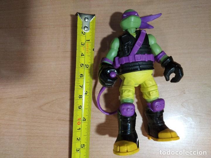 Figuras y Muñecos Tortugas Ninja: FIGURA TORTUGAS NINJAS DONATELLO MUTAGEN OOZE-12cm aprox.-VIACOM-2012-VER FOTOS-V1 - Foto 7 - 200032740