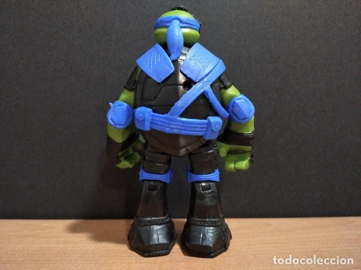 Figuras y Muñecos Tortugas Ninja: FIGURA TORTUGAS NINJAS LEONARDO ZIP LINE ACTION!-12cm aprox.-VIACOM-2013-VER FOTOS-V1 - Foto 5 - 200035390